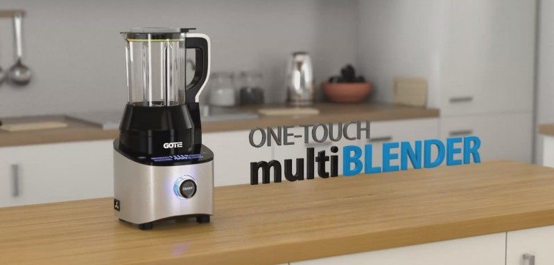 Multiblender Gotie One-Touch GBS-2500 (wideo)