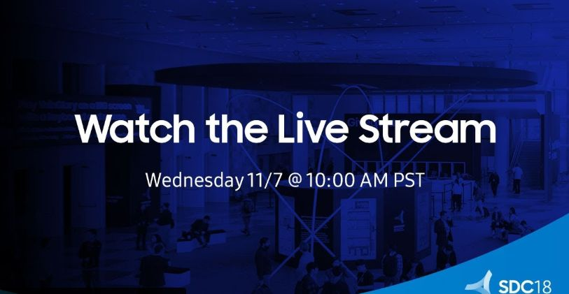 Jutro o 19.00 Samsung Developer Conference 2018 (livestreaming)